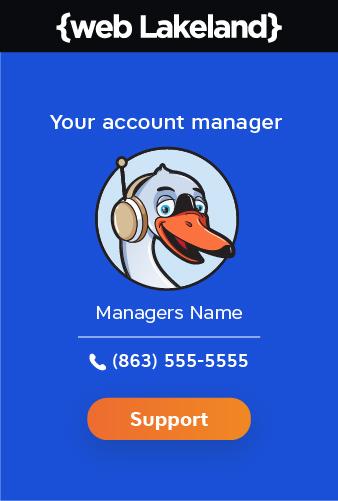 Web Lakeland dedicated manager