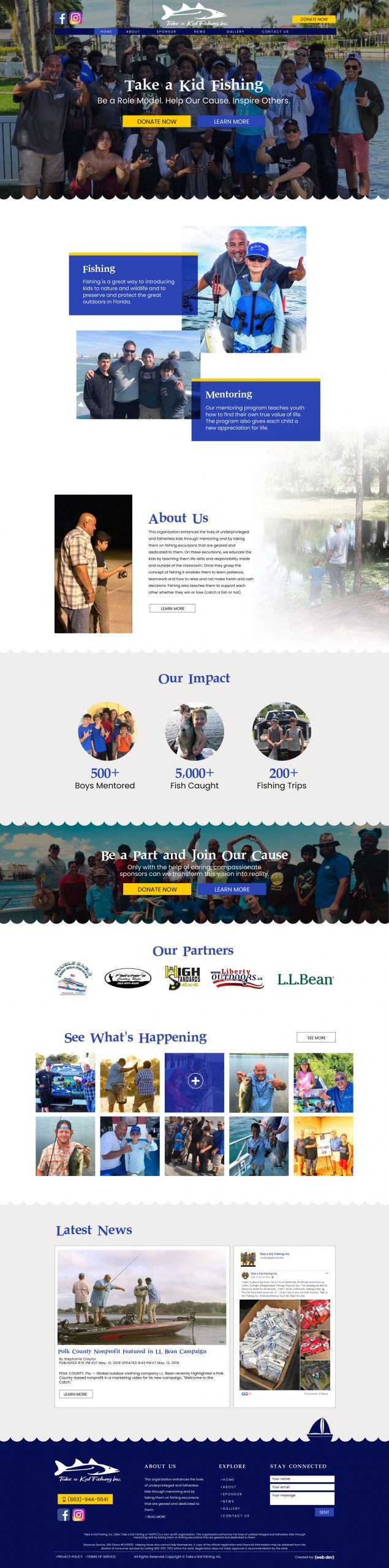 Website design for non-profit organisations