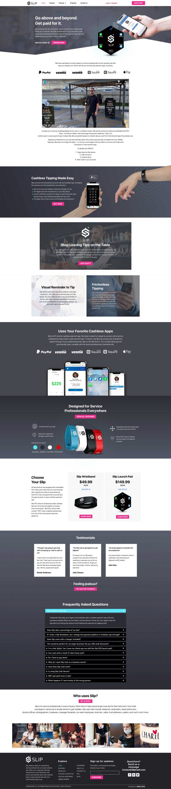 eCommerce wordpress website design